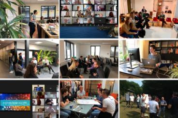 Online workshops - </br> real connections